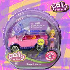 polly pocket polly wheels 1 bling u0027n blush mattel buy
