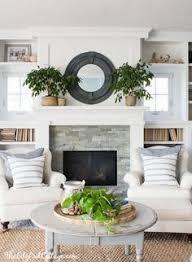 Bookshelf Around Fireplace Diy Planked Fireplace Fireplace After Ranch Renovation Marble