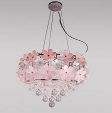 Chandelier For Kids Room by Daisy Chandelier Pink Flower Chandelier Lighting Home