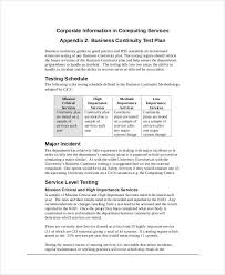 10 simple test plan templates free sample example format