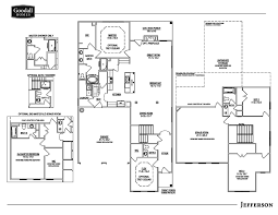 the jefferson floor plans goodall homes