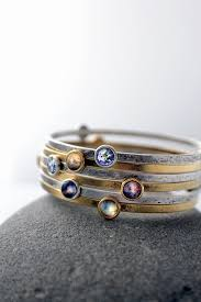 galaxy wedding rings stackable bracelets galaxy space stacked bangles universe