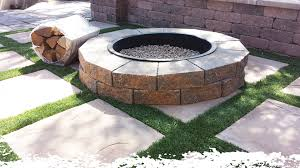 Large Fire Pit Ring by Oneer Sand Custom Fire Pits