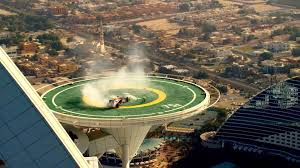 burj al arab images red bull racing f1 stunt on burj al arab helipad official video