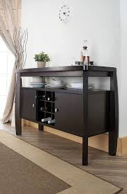 amazon com iohomes clyton dining buffet dark espresso buffets