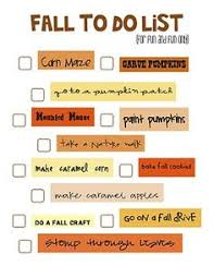 fall to do list whimsy holidays
