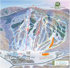 Mt Snow Trail Map Ski Trail Map Calabogie Peaks Skiing Snowboarding