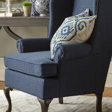 Velvet Wingback Chair Blue Velvet Wingback Chair Modern Home