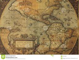 Map Americas by Ancient Maps Of North And South America Stock Image Image 16412901