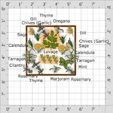 Herb Garden Layout Garden Plan Herb Garden