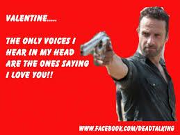 Walking Dead Valentine Meme - love printable walking dead valentine cards plus walking dead