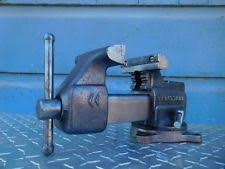 Woodworking Bench Vise Made In Usa by Craftsman Vise Ebay