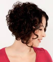 how to stlye a stacked bob with wavy hair fullness for curly hair with an a line cut stacked bob or wedge cut