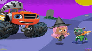monster list of halloween paw patrol u0026 blaze and the monster machines halloween house party