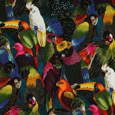 henry birds of a feather multi fabric emerald city fabrics