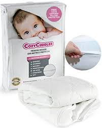 Crib Mattress Cover With Zipper Premium Zippered Quilted Waterproof Crib Protector