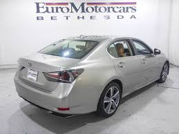 used lexus motors sale 2016 lexus gs 450h 4dr sedan hybrid sedan for sale in bethesda md