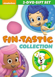bubble guppies fin tastic collection dvd lovebugs and postcards