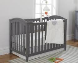 sorelle berkley classic 4 in 1 convertible crib grey ebay