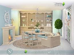 SIMcredibles Coastal Dining Room - Coastal dining room