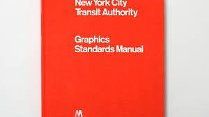 full size reissue of the nycta graphics standards manual by jesse