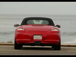 porsche boxster red 2007 porsche boxster red rear 1280x960 wallpaper