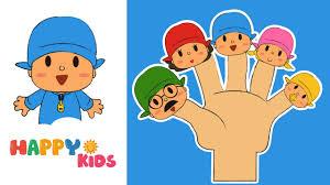 finger family song mega finger family collection pocoyo