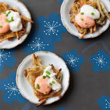 hanukkah latke party menu epicurious com