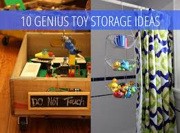 Toy Organization by 10 Genius Toy Storage Ideas