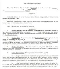 purchase agreement 10 free word pdf documents download free