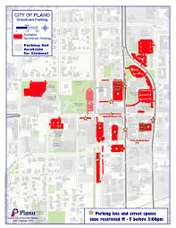 map plano downtown parking map 9 15red historic downtown plano arts district