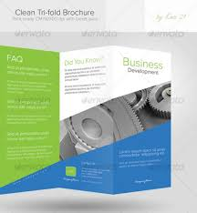 one sided brochure template brochure templates pages fieldstation co