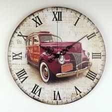 Antique Home Decor Popular Big Wall Clock Number Buy Cheap Big Wall Clock Number Lots