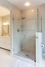 shower remodel making the bathing experience better cool frame less glass enclosure add elegance to this over sized shower stall shower