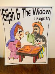 hands on bible teacher elijah u0026 the widow of zarephath
