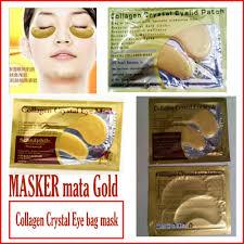 Jual Masker Mata Collagen Di Surabaya masker mata asli qoo10 10 pcs 3d essence masker pulp alami asli