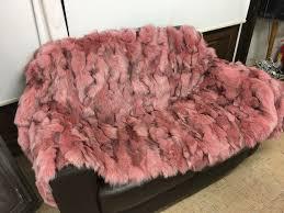 light pink fur blanket 62 best fur blankets fur plates images on pinterest blankets