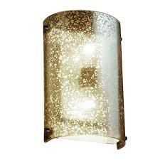 Glass Wall Sconce Mercury Glass Wall Sconce Bellacor