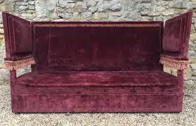 Knole Settee For Sale A Large Edwardian Velvet Covered Knole Sofa C 1910 404777
