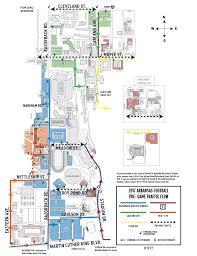 Uofa Map Game Day Traffic Flow Arkansas Razorbacks