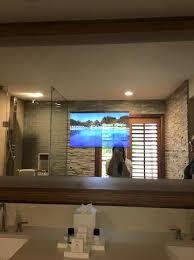Bathroom Mirror With Tv by Bathroom With Tv In Mirror Picture Of Villas Of Grand Cypress