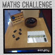 maths challenge domino parking early years maths pinterest