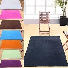 cotton chenille rugs blue black pink orange purple green carpet