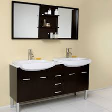 Framed Mirrors For Bathroom by Bathroom Ideas Modern Double Bathroom Vanities Under Two White