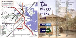 Mbta Map Boston by Scans From Collections