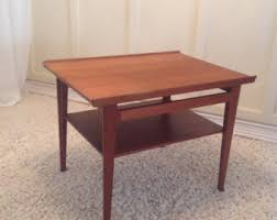 Teak Side Table Teak Table Etsy