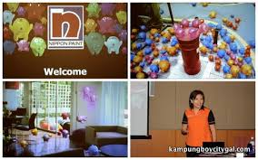 nippon paint workshop all about colours kampungboycitygal