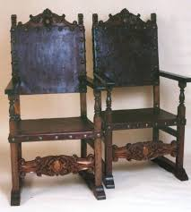 Armchair Tables Dining Table Spanish Style Leather Dining Chairs Tables For Sale