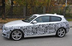 bmw 1 series hybrid 2015 bmw 1 series facelift interior spied with a idrive screen