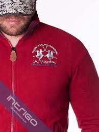 la martina maserati special events sweatshirt red intrigo